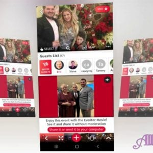Free Event & Wedding Video & Photo Sharing App from All Party Starz Entertainment